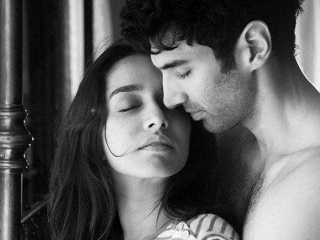 Shraddha Kapoor and Aditya Roy Kapur in the first look from Ok Jaanu.