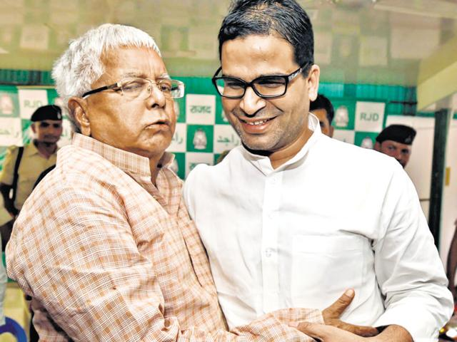 Political observers said Prashant Kishor (right) had possibly recommended that expelled Punjab Congress leaders should be taken back into the party, which had angered party chief Amarinder Singh.
