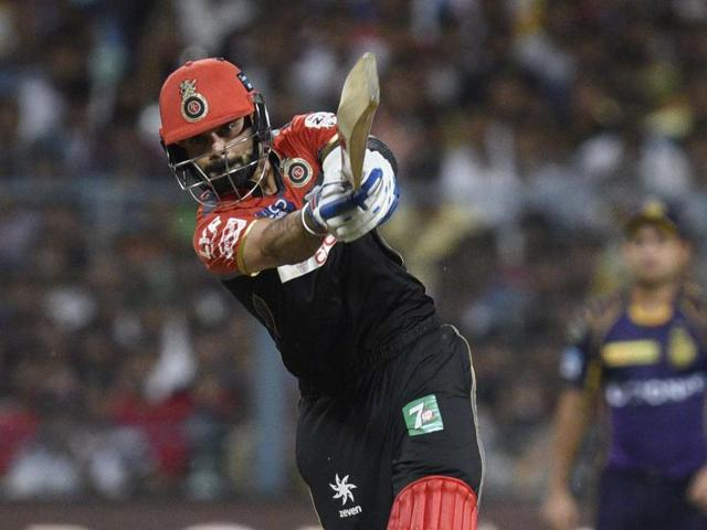 Virat Kohli made Kolkata Knight Riders work for their runs and then put on a commanding batting display with AB de Villiers to seal a nine-wicket victory at the Eden Gardens on Monday.