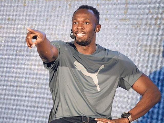 Bolt tweaked his hamstring during his 100m win at the Cayman Invitational.