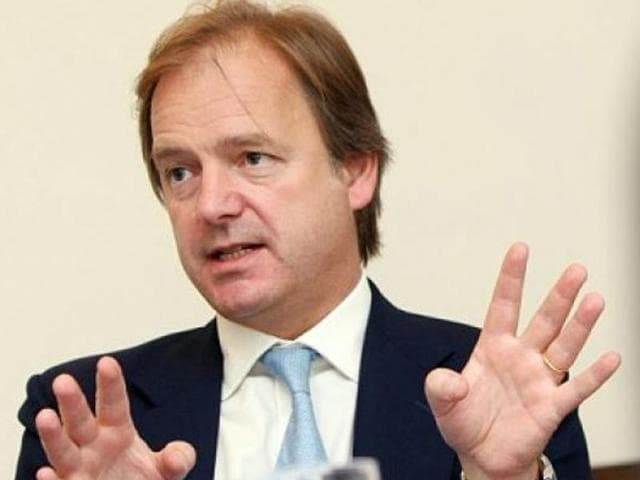 File photo of Hugo Swire, Britain's Foreign Office minister responsible for India and the Commonwealth.