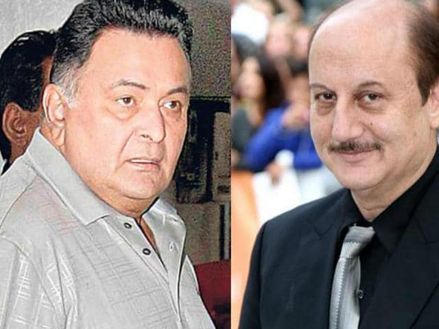 Anupam Kher says instead of tracing political motivation in the remarks by Rishi Kapoor, one should take his statement seriously.