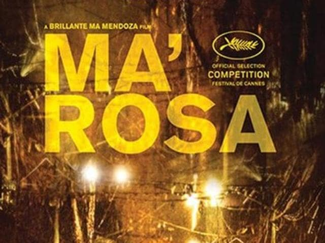 Ma' Rosa tells the story of a poor Manila neighbourhood stall holder who sells drugs on the side with her husband to make ends meet.