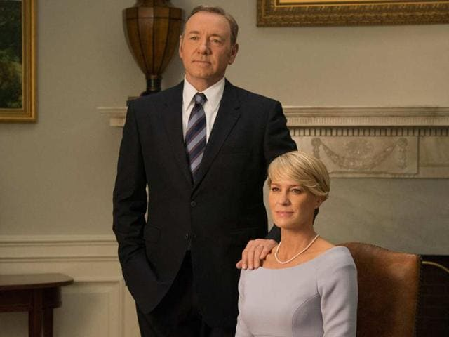 Similar to Spacey, who plays President Frank Underwood, she has appeared in all 52 episodes of House of Cards.