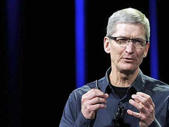 The chief executive, who sees the country as the company's next growth curve point, is in the country to forge partnerships and open exclusive stores that will help boost iPhone sales.
