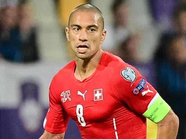 Afile photo of Swiss footballer Gokhan Inler.