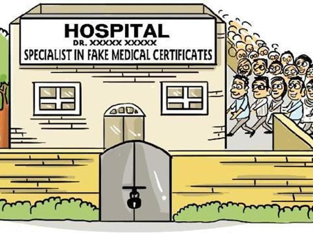 """When HT spoke to Dr Priyanka Kalia, medical officer with Fortis, whose name and signature was on a medical certificate of a student, said, """"Dr Manuj Wadhwa had left Fortis a long time back and his name and my name on the discharge summary of 2016 is impossible. They cannot appear together. I do not understand this. I strongly believe that somebody has forged the papers."""""""