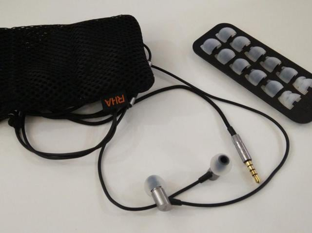 RHA's S500i in-ear headphones have very small ear pieces thanks to their micro-dynamic drivers.
