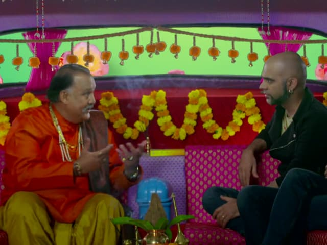 The main gag here is that any talk of sex makes Alok Nath -- card carrying sanskaari -- nervous to the point of collapse.