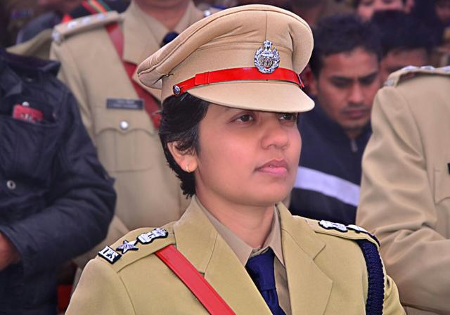 Manzil Saini, the first SSP of Lucknow, may take charge of the office on Wednesday.