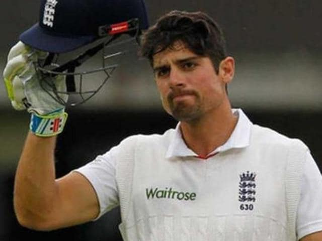 A file photo of England Test captain Alastair Cook.