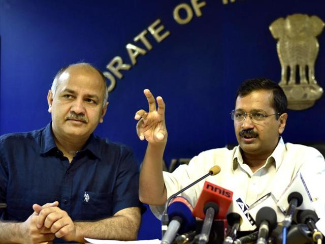 Chief Minister Arvind Kejriwal on Wednesday released a draft Bill with proposals to bring police, land and bureaucracy under the control of the state government.