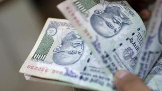 Rupee firms up 5 paise to 2-week high of 67.27