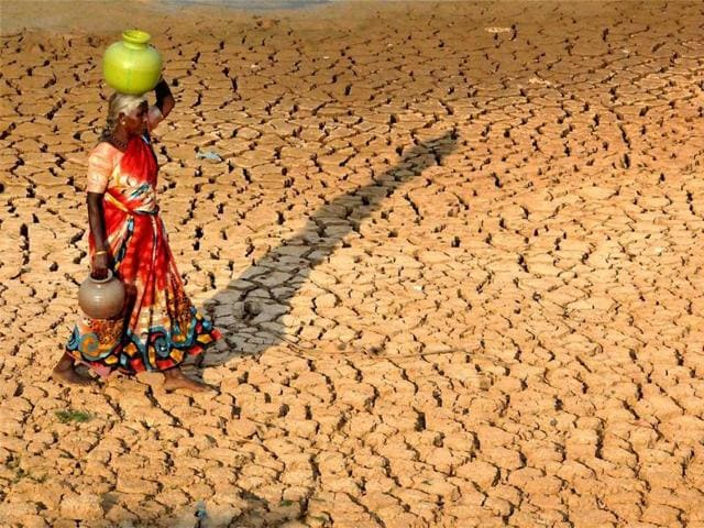 It is not necessary that a state government declares drought in the entire state when only parts are affected.(Anshuman Poyrekar/ Hindustan Times)