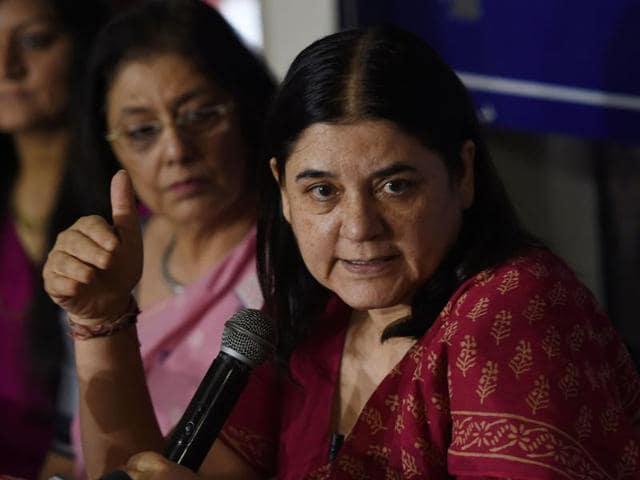 National women policy,Maneka gandhi,Women empowerment
