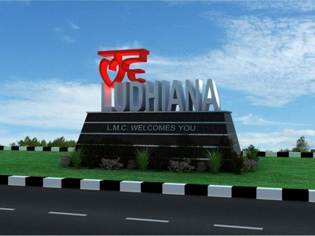 Computerised design of structures to be installed at entry points in Ludhiana.