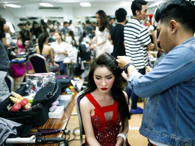 Thailand uses this pageant to promote Pattaya as a resort city and to improve Pattaya's image abroad. (REUTERS)