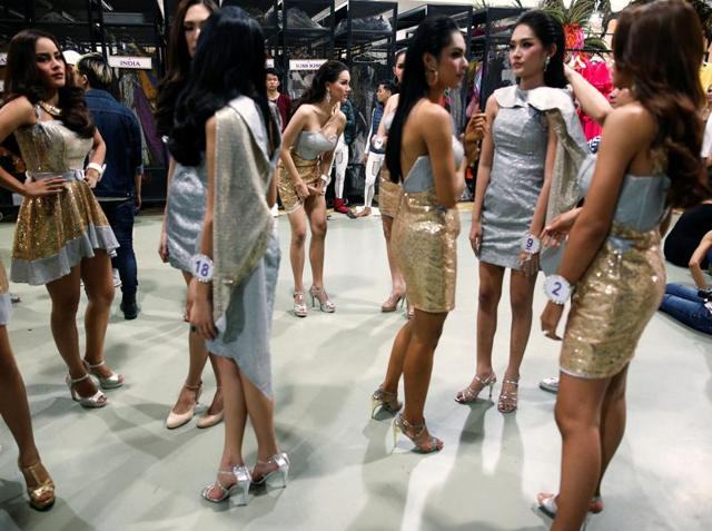 A prerequisite for the contest is that all contestants need to have Thai nationality and be between the age of 18 and 25. (REUTERS)