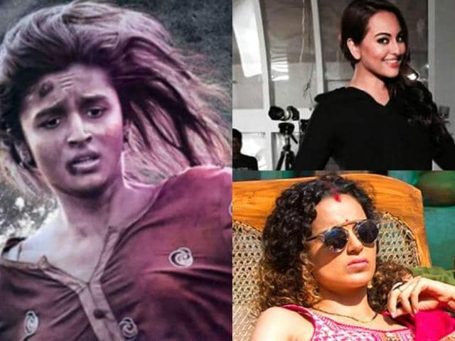 An increasing number of Bollywood actresses are taking up tough and performance-driven roles in different films to prove their versatility.