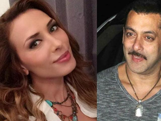 Salman Khan,Salman Iulia,Iulia Vantur