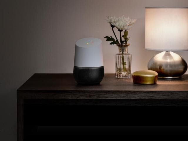 Google Chief Executive Sundar Pichai introduced Google Assistant, a virtual personal assistant, along with the tabletop speaker appliance Google Home
