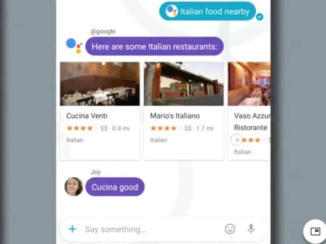 Google,Messaging,Apple