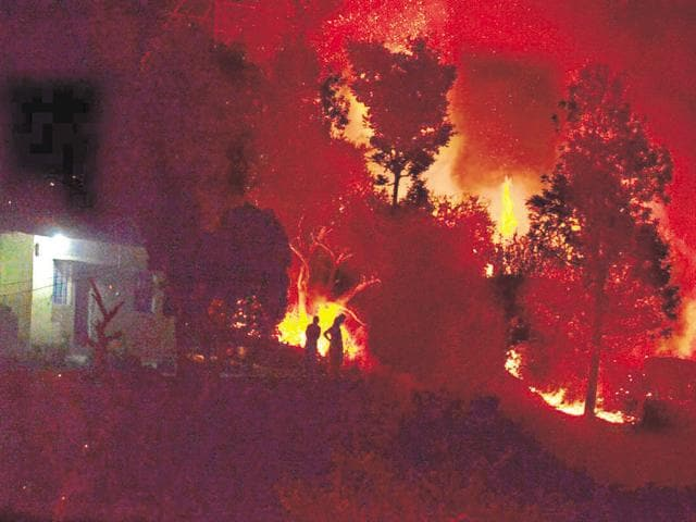 Forest minister Dinesh Agarwal has said the department should not be blamed for all kinds of fire.