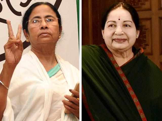 Trinamool's Mamata Banerjee and AIADMK's J Jayalalithaa emerged triumphant in the 2016 assembly elections, retaining their CM posts in West Bengal and Tamil Nadu, respectively.