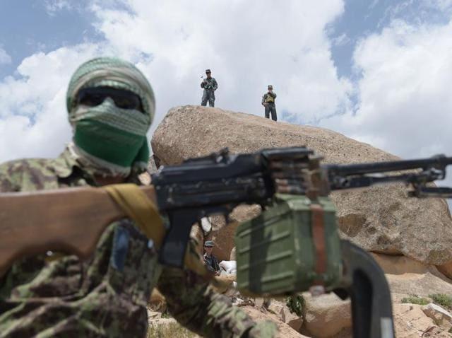 Afghanistan,Insider attack,Afghan policemen
