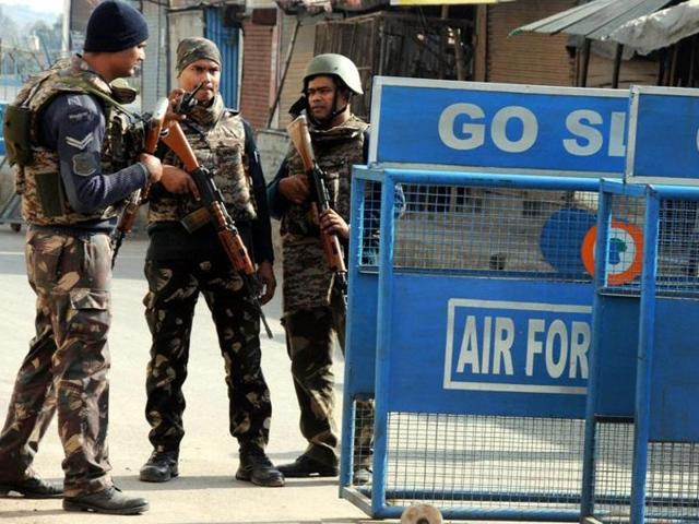 Soldiers stand guard near the Pathankot air base. The US has said that it has provided substantial assistance to India in the probe into the terror attack on the January 2 terrorist attack.