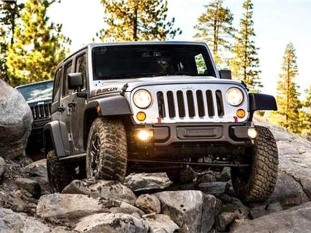 Jeep Wrangler is marketed as a rugged off-road vehicle.