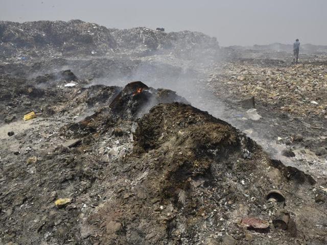 Delhi landfills,waste to energy,Narela-Bawana