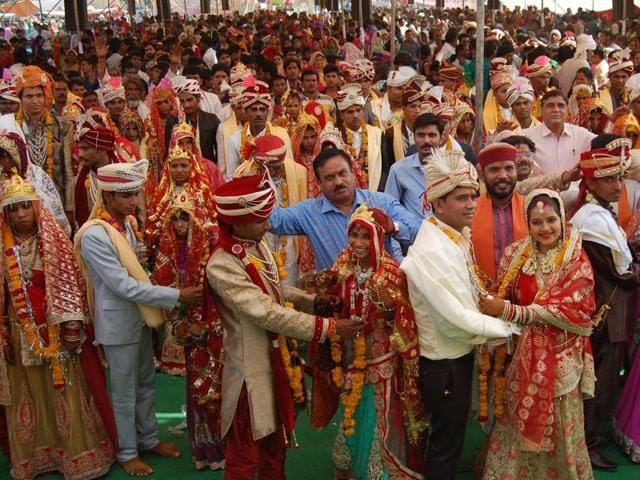 The Scheduled castes welfare department launched inter-caste marriage promotion scheme to eliminate untouchability.