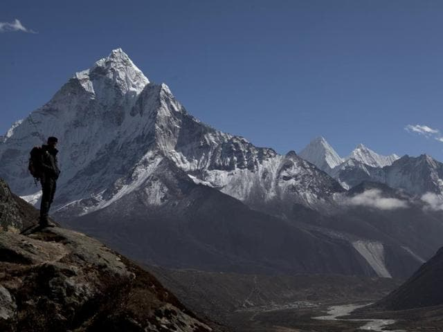 The climbers include Silvia Vasquez Lavado, the first Peruvian woman to have reached the peak of Everest.