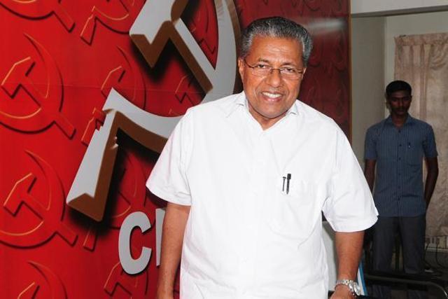 Politburo member Pinarayi Vijayan