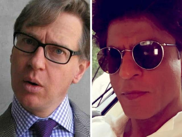 Shah Rukh Khan has extended an open invitation to Hollywood director Paul Feig, his wife Laurie and all their friends.