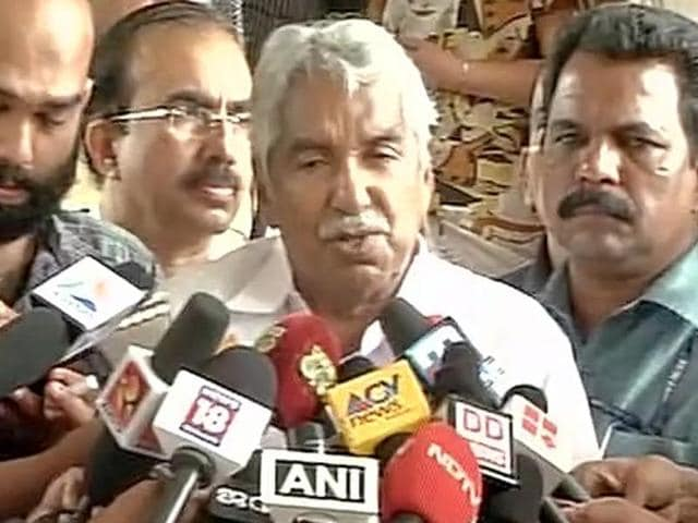 Oomen Chandy resigned as the chief minister of Kerala on Friday morning.