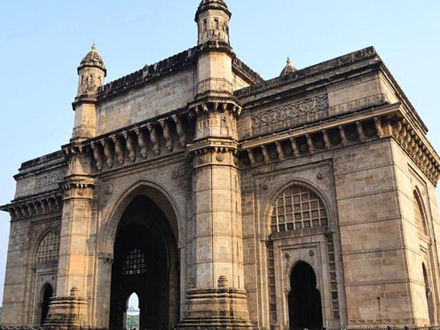 American tourist,Gateway of India,Colaba
