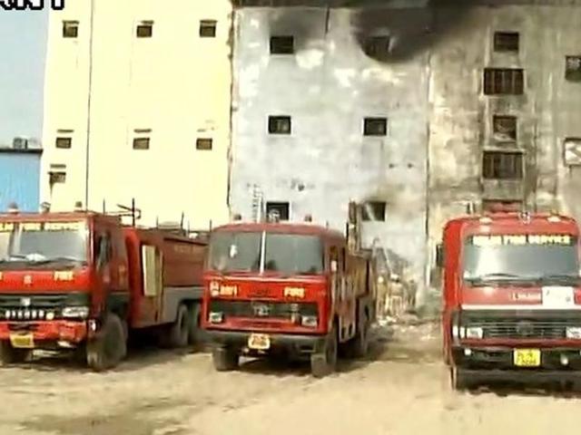 A major fire broke out in a footwear  factory in Delhi on Friday.