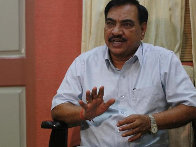 Revenue minister Eknath Khadse has challenged the Opposition to prove the allegations.