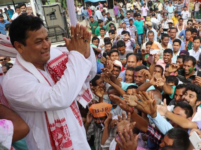 BJP's Sarbananda Sonowal will be Assam's new chief minister.