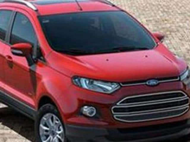 ford india recalls 48 700 units of its compact suv. Black Bedroom Furniture Sets. Home Design Ideas