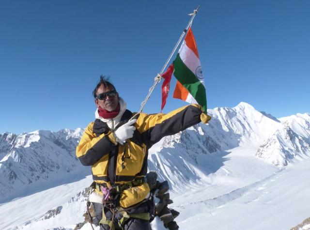 A file photo of Paresh Nath who has gone missing during his ascent to Mt Everest.