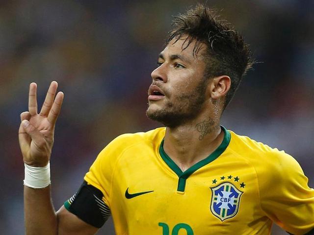 A file photo of Brazilian footballer Neymar.