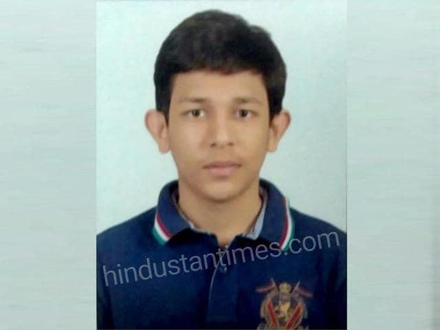 Jaipur's Ayush Jain has scored an impressive 98.4% in his CBSE Class 12 board examinations.