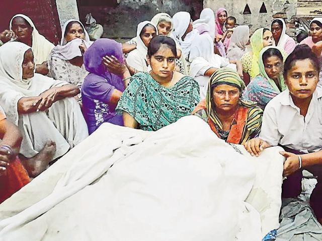 Sources said the farmer, identified as Gurdeep Singh, was reeling under huge debt. Last year, he had mortgaged five kanal of his eight-kanal land to a commission agent.