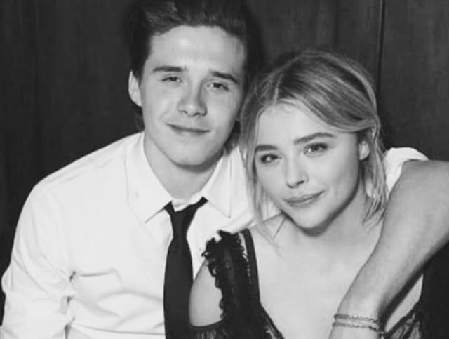 The couple made their first public appearance together at the recent red carpet premiere for Moretz's new movie Neighbours 2.