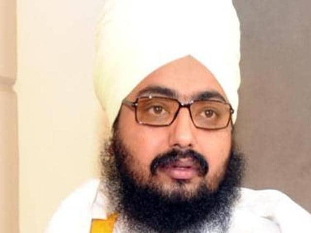 Sikh preacher Ranjit Singh Dhadrianwale.