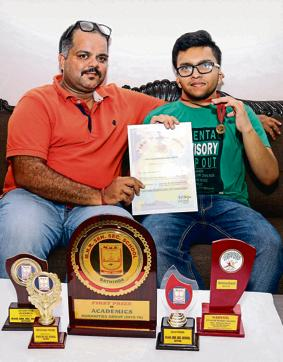 Differently abled student,PSEB,Class 12 exams