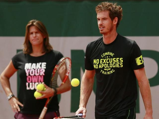 Mauresmo and Murray announced the end of an almost two-year partnership this month, but Mauresmo said the decision had been made some time ago.